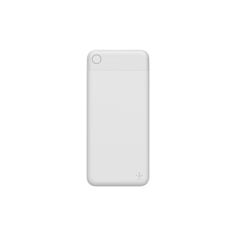 BELKIN Batterie externe 5K avec connecteur Lightning - Blanc
