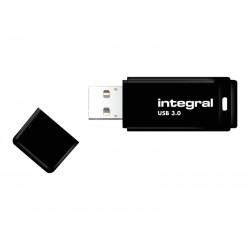 Integral - Clé USB - 64 Go - USB 2.0 - noir