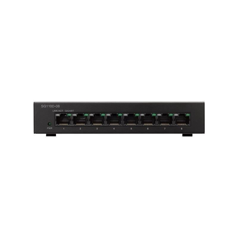 Cisco Small Business SG110D-08 - Switch Gigabit 8