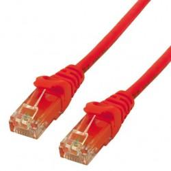 MCL Câble réseau FCC6M-3M/R - 3 m catégorie 6 - 1 x RJ-45 mâle - 1 x RJ-45 mâle - Rouge