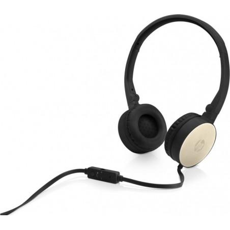 Casque audio HP 2800 S Gold Headset