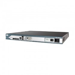 Switch Cisco 2800 Series 2811 4x RJ-45 2x USB Compact Flash 10/100Mbps Ethernet