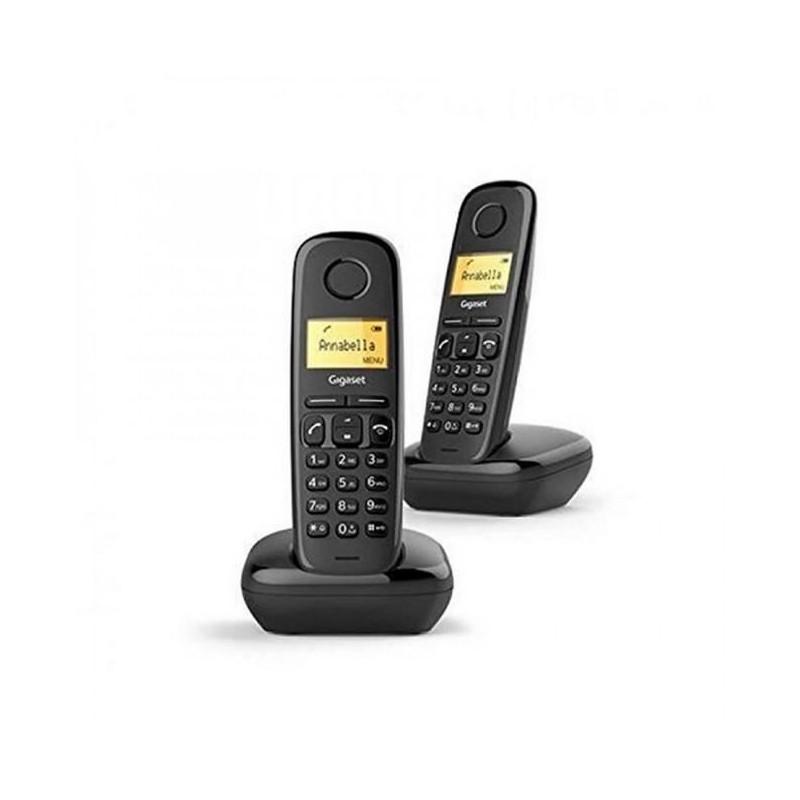 GIGASET Téléphone Fixe A 170 Duo Noir