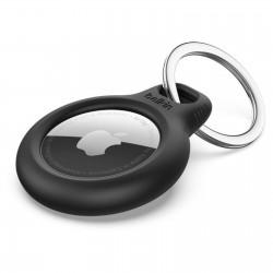Belkin Support AirTag sécurisé avec porte-clés noir