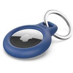 Belkin Support AirTag sécurisé avec porte-clés bleu