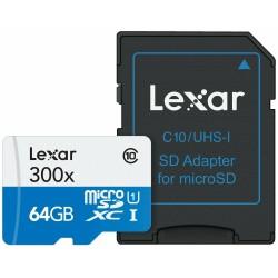 Carte mémoire 64GB 300x...